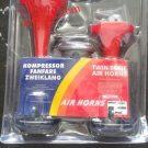 Jual Klakson horn terompet 2 corong 12 volt power dinamo