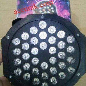 Jual Lampu LED PAR isi 36LED/ LEd Flat Par RGBW 3 warna (280)