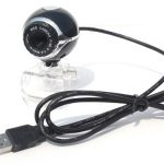 Jual murah USB webcam Bluebird bulat Jepit 75