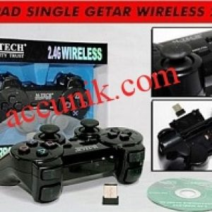 Jual Gamepad Stick game Wireless Single Getar Mtech USB untuk komputer dan laptop