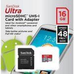 Jual Memory MicroSD Sandisk 16 GB Class 10 Speed 48 mb/s