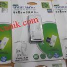 Jual Card reader USB 2.0 High speed slim Sy386