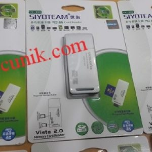 Jual Card reader USB 2.0 High speed slim Sy386