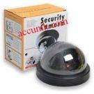 Jual Simulator Kamera CCTV hiasan model Dome power batrei /CCTV palsu/hiasan saja