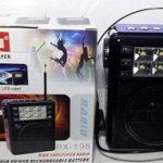 Jual termurah Speaker karaoke mp3 dan FM radio senter golon serbaguna