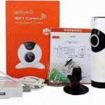Jual Kamera Ip 360 Eye Panoramic Wireless HD