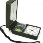 Jual Kompas outdoor Multifungsi 10 in 1 perlengkapan camping dan hiking