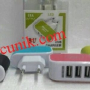 Jual Travel charger 3 Slot PUD termurah