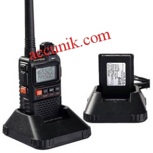 Handy Talky UV3R+ Dual Band FM radio Minimalis