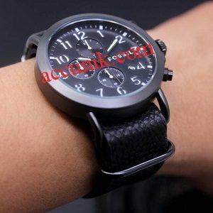 Jam tangan Fossil R1142-6 White Black