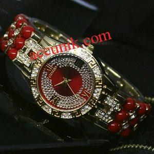 Jual Jam Tangan cewek Guess R1164-4 Red