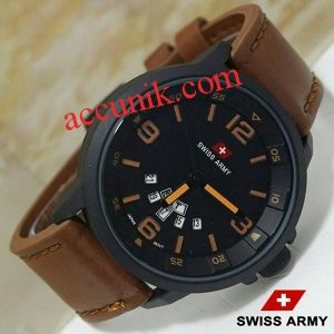 Jual murah Jam tangan swiss army R1101-4 Leather