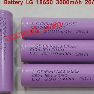Batrei charger 18650 LG 20A 3000mah