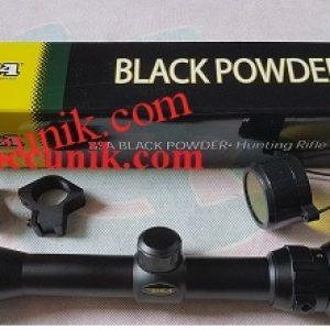 Telescope senapan BSA 3-9×40 Black powder RGB