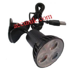 lampu klip USB 3 led murah Serbaguna lampu meja belajar