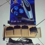 Jual Mesin cukur potong rambut/ bulu scarlet 1611 lengkap