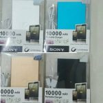 Power Bank sony 10000Mah powerbank real capacity 2 USb