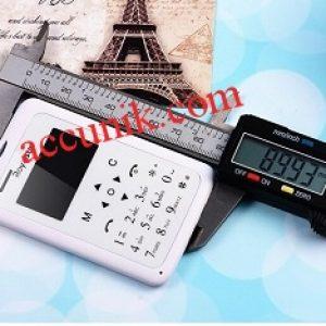 Handphone mini unik seri 102royal class handphone setipis kartu