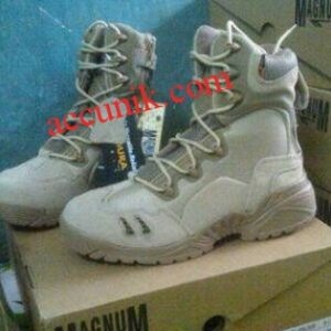 Sepatu Magnum Tinggi gurun / tan 8inci sepatu boot murah