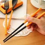 jual paket sendok garpu korean stlye lengkap alat makan traveling