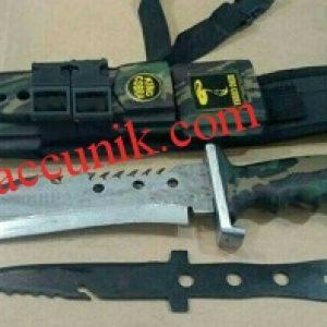 Murah Pisau Sangkur Belati Cobra / Kopra sarung dan anak pisau