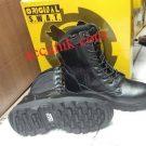 Jual Sepatu SWAT safety ujung besi Tactical Tinggi, sepatu boot terbaik termurah
