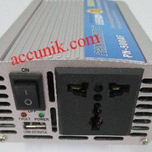 Power Inverter mobil 500watt HKM (inverter 12 DC ke 220AC)