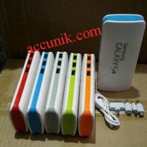 Power bank 3 output samsung mini eceran satuan