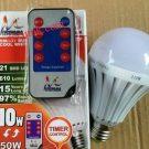 lampu timer LED 10 watt remote