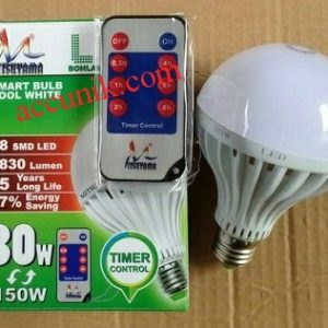 lampu timer LED 30 watt Murah, bisa diatur kapan mati