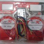 Klakson echo 7 suara double horn 12 volt motor / mobil