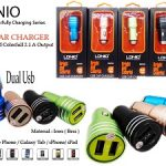 Car Charger Dual Usb 2.1A ldino charger mobil 2 USB charger mobil