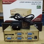 VGA Splitter sharing pembagi output 4 port 4 On