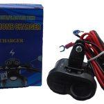 USB Charger sepeda motor / mobil Plug and play 2 output