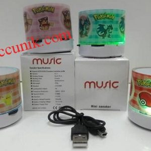 Murah speaker bluetooth pokemon logo