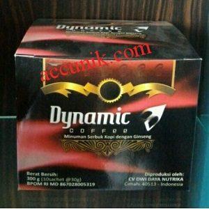 Kopi Dynamic coffe Original 1 dus isi 10 sachet Original siap kirim