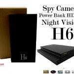 kamera Spycam Power Bank H6 Spy 080p night vision 2 USB
