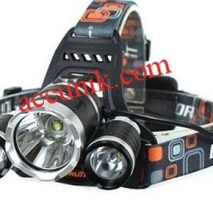 senter Kepala 3 led boruit LED Cree T6 fokus