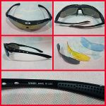 Jual kacamata oakley quantum isi 5 lensa aneka warna termurah