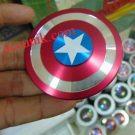 Spinner Fidget perisai captain amerika acunik 2 sisi (premium)