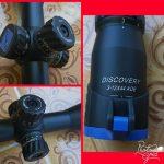 Discovery VT1 3-12×44 Teropong senapan angin teleskope