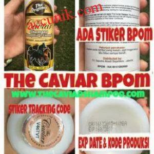 Jual The Caviar Shampoo Sampo label kuda For Faster Growing BPOM original