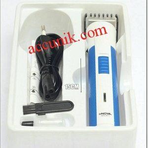 Mesin alat pangkas potong rambut nova 6011JS charger