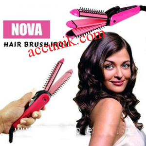 jual Catok rambut nova 8890JS 3in1 hair brush