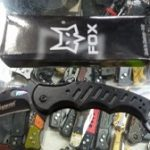 Jual pisau lipat karambit fox knives hitam 7c