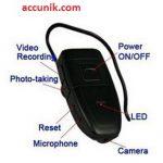 jual kamera pengintai spycam headset bluetooth 4 giga
