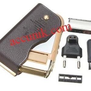 kemei shaver pemotong kumis rambut portabel Q5700 khusus Pria
