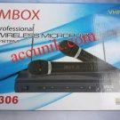Jual murah m306 mbox mic wireless (2 mic)
