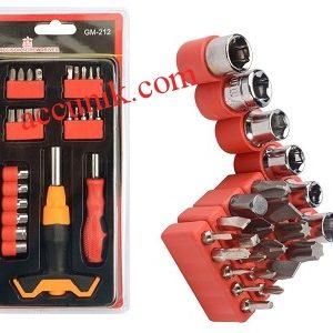 Jual paket obeng 212 multi tools 26 pcs serbaguna