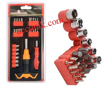 Jual murah paket obeng 212 multi tools 26 pcs